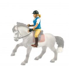 Figurine Cavalière Nina