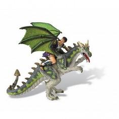 Figurine Chevalier au dragon vert