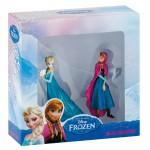 Coffret 2 mini figurines La Reine des Neiges (Frozen) : Anna et Elsa