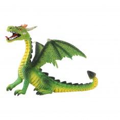 Figurine Dragon vert assis