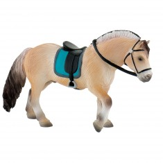 Figurine cheval : Etalon Fjord norvégien