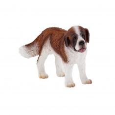 Figurine chien : Ben le Saint Bernard