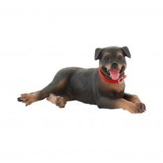 Figurine chien : Fiona le Rottweiller