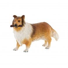 Figurine chien : Lassie le Colley
