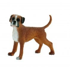 Figurine chien : Maggie le boxer allemand