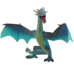 Figurine Dragon :  Bleu