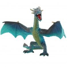 Figurine Dragon :  Bleu