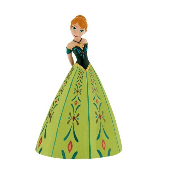 Figurine la reine des neiges frozen anna robe verte jeux et jouets bullyland avenue des jeux - La reine des neiges petite ...
