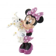 Figurine Minnie et son chien