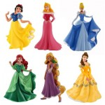 Figurines Princesses Disney : Coffret 6 figurines