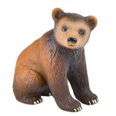 Figurine Ours brun : Bébé assis