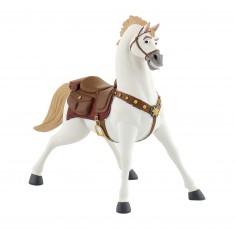Figurine raiponce raiponce avec des fleurs jeux et - Maximus cheval raiponce ...