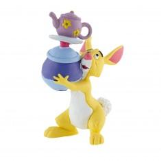 Figurine Winnie l'ourson : Coco Lapin avec vaisselle