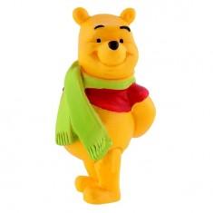 Figurine Winnie l'ourson : Winnie avec écharpe
