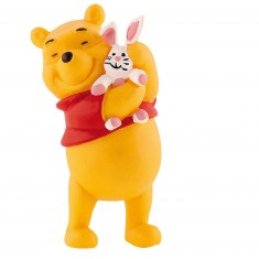 Figurine Winnie l'ourson : Winnie avec lapin