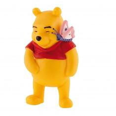 Figurine Winnie l'ourson : Winnie avec  papillon