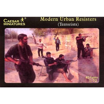 Figurines Combattants de rues 1990-2000 - Caesarminiatures-CM031