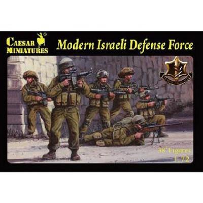 Figurines militaires: Fantassins Armée Israélienne 2011 - Caesarminiatures-CM057