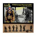 Figurines 2ème Guerre Mondiale : Panzergrenadiers allemands Front de l'est Hiver 1943-1944