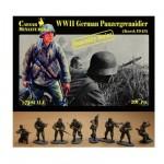 Figurines 2ème Guerre Mondiale :  Panzergrenadiers SS Bataille de Kursk 1943