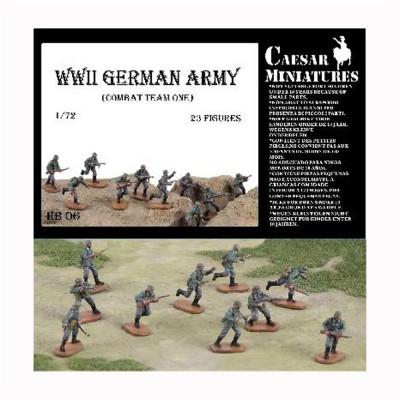 Figurines militaires Groupe de combat allemand n°1 1944-1945 - Caesarminiatures-CMHB006