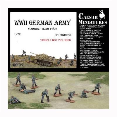 Figurines militaires Groupe de combat allemand n°2 1941-1943 - Caesarminiatures-CMHB007