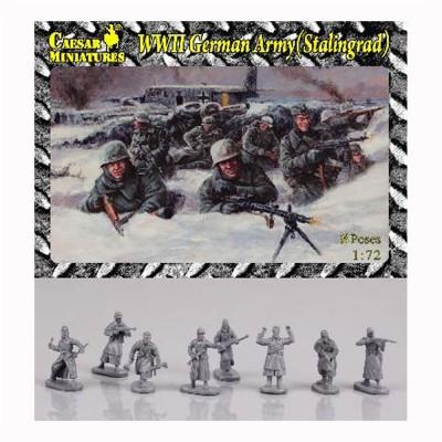 Figurines militaires Troupes allemandes Bataille de Stalingrad 1942/1943 - Caesarminiatures-CMHB009