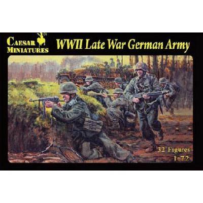 Figurines 2ème Guerre Mondiale : Panzergrenadier allemands (Wehrmacht) 1944 -1945 - Caesarminiatures-CM074