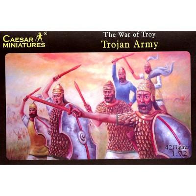 Figurines  Guerre de Troie: Armée troyenne1185 av. JC - Caesarminiatures-CM019