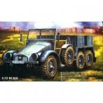 Maquette camion léger allemand Krupp Protze Kfz.69 avec figurines