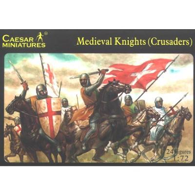 Figurines médiévales: Chevaliers croisés XIIème siècle - Caesarminiatures-CM017