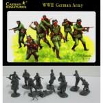 Figurines 2ème Guerre Mondiale : Fantassins armée allemande 1939-1941