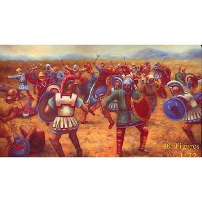 Figurines Bataille de Marathon: Fantassins Perses 490 av. JC - Caesarminiatures-CM066