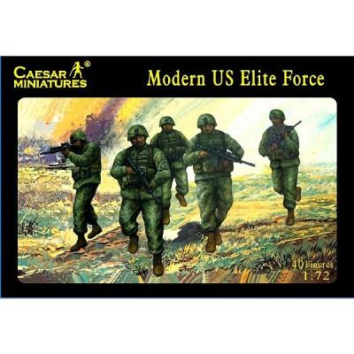Figurines militaires: Forces d'élite armée US 2008 - Caesarminiatures-CM058