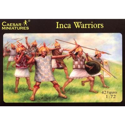 Figurines guerriers incas XVIème siècle - Caesarminiatures-CM026