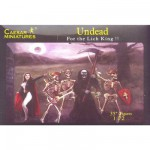 Figurines Fantasy: Guerriers morts-vivants et vampires