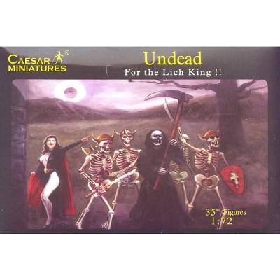 Figurines Fantasy: Guerriers morts-vivants et vampires - Caesarminiatures-CMF103