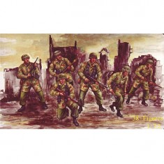 Figurines 2ème Guerre Mondiale : Parachutistes allemands 1943-1945
