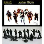 Figurines milices musulmanes: Somalie et Talibans 2008