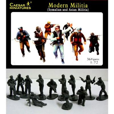 Figurines milices musulmanes: Somalie et Talibans 2008 - Caesarminiatures-CM063