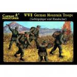 Figurines 2ème Guerre Mondiale : Troupes de montagne allemandes 1943-1944
