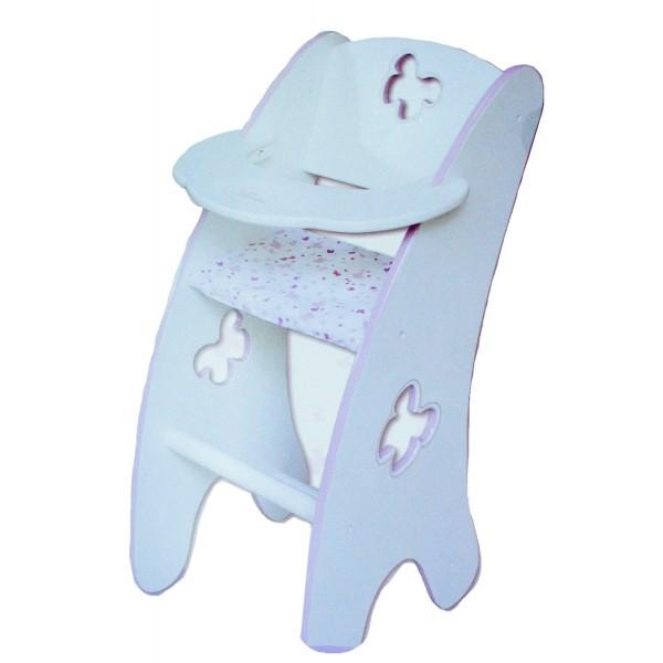 Chaise Haute Bois Poupon : Chaise haute en bois pour poupon – Jeux et jouets Calinou – Avenue des