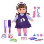 Poupée avec accessoires de mode : Violet
