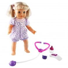 Léa la poupée malade