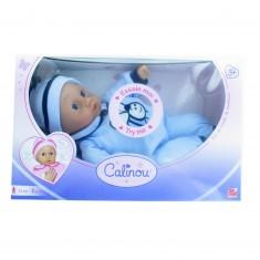 Poupon intéractif bébé premiers mots : Bleu