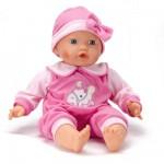 Vêtements pour poupée de 46 cm : Pyjama Rose avec motif cheval