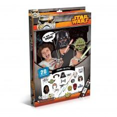 Accessoires de déguisement : Selfie Booth Photo Délire : Star Wars