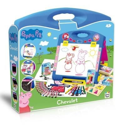 Chevalet peppa pig jeux et jouets canal toys avenue des jeux - Fusee peppa pig ...