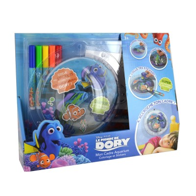 Mon cadre aquarium le monde de dory jeux et jouets canal for Aquarium cadre