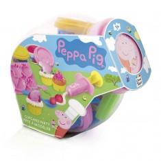 Pâte à modeler Peppa Pig : Cupcakes Party